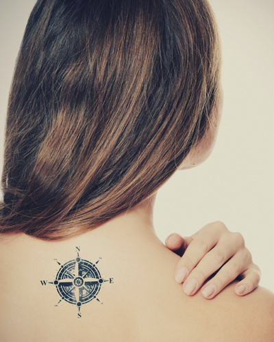 Nape Tattoo Designs