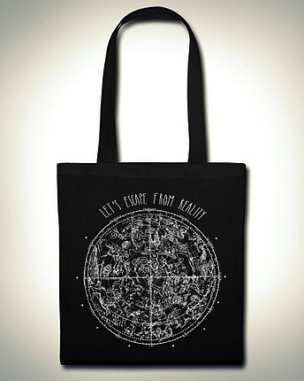 Let's escape from reality bag