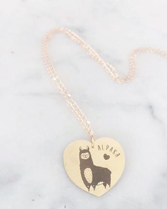 Alpace necklace