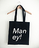Man ey tote bag 8029 small