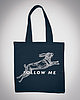 Follow me tote bag 7484 small