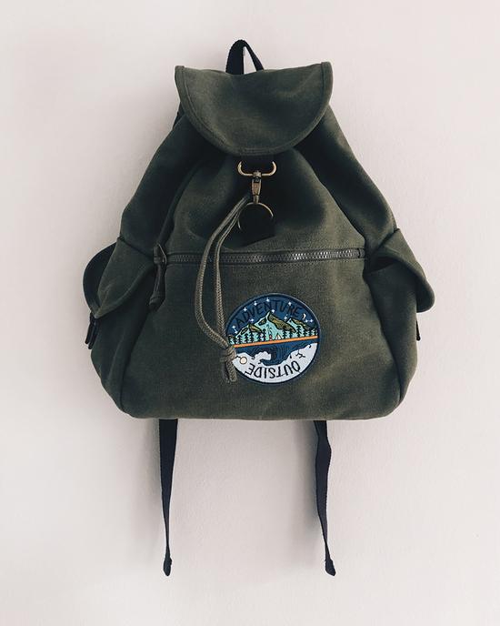Canvas Vintage Rucksack