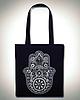 Hamsa tote bag 6383 small