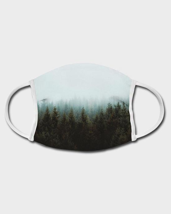 Gesichtsmaske Wald