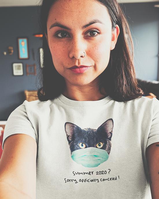 Corona Cat Shirt