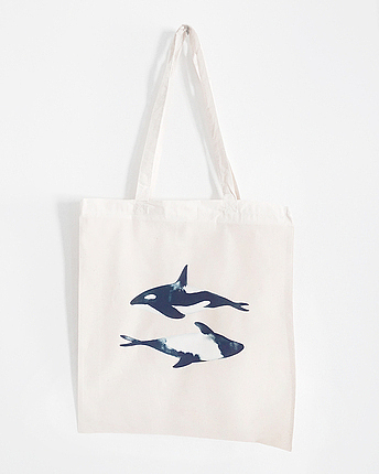 Whale totebag