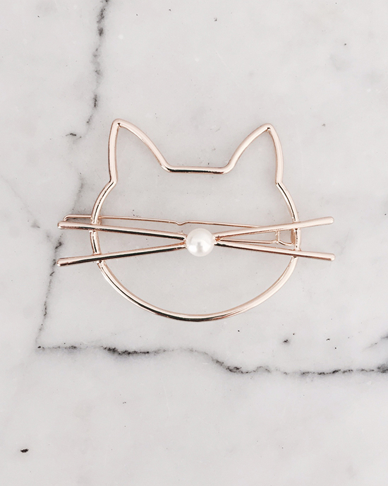 Katzen Haarspange