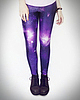 Galaxy leggings 6057 small