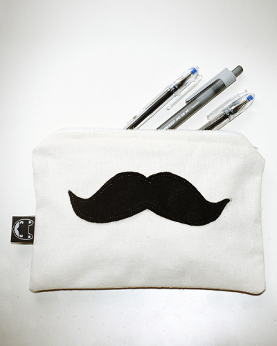 Moustache Federtasche