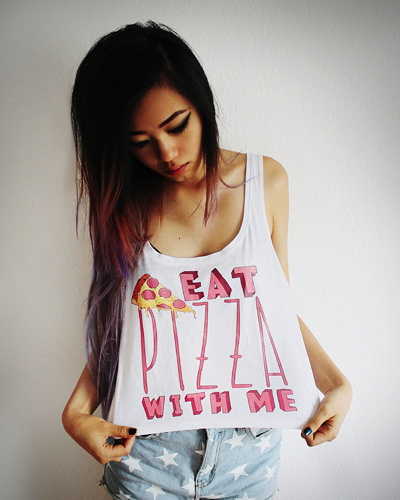 Eat Pizza with me!