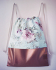 Vintage flower gym bag 6543 small