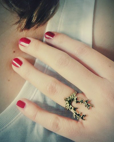Vintage Hirsch Ring