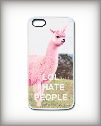 Lamacorn iPhone cover