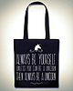 Always be a unicorn totebag 6177 small