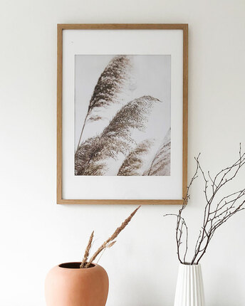 poster with grasses