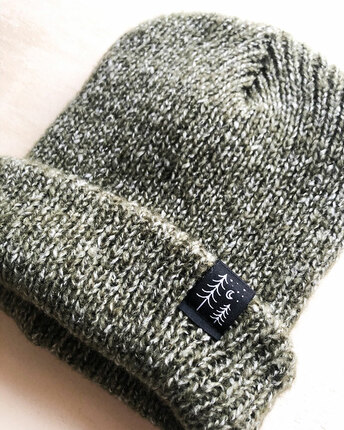 Tree patch beanie