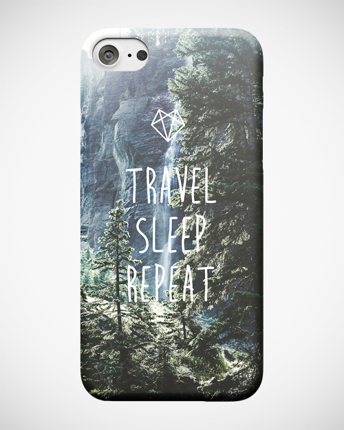 Travel Sleep Repeat Case