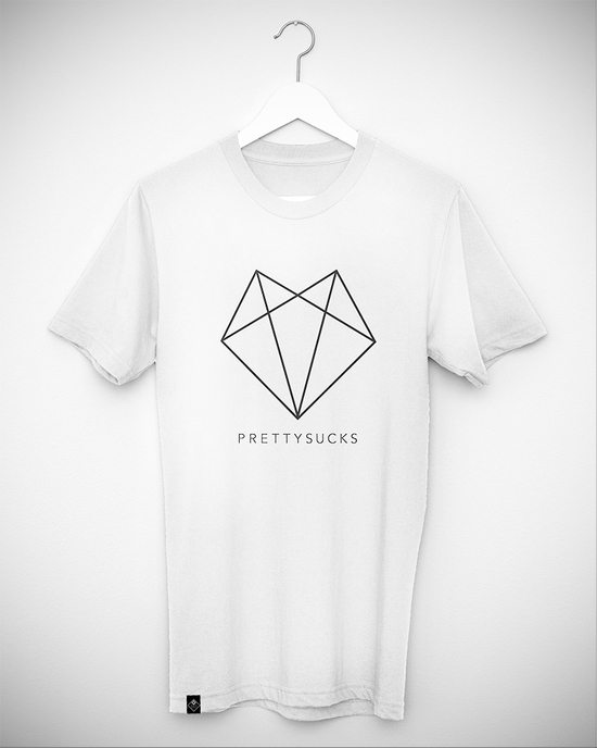 prettysucks logo shirt