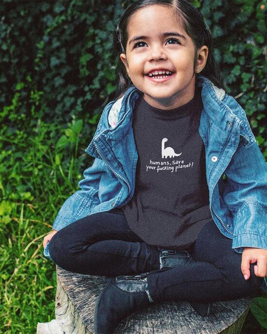 Save your planet Dino Shirt