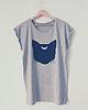 Mooncat t shirt 6964 small
