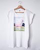 Lamacorn oversized shirt 6901 small