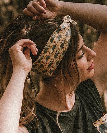 Badger hair band