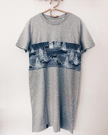 Fox dress grey