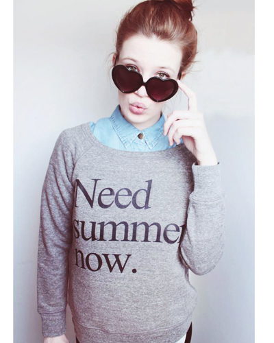 Need Summer Now Sweatshirt