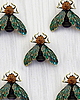 Bee brooch 8071 small