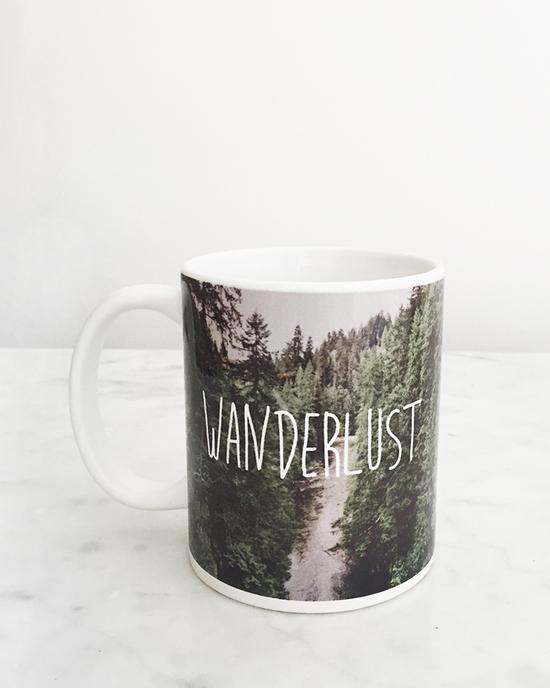 Wanderlust Kaffeebecher