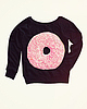 Big donut sweatshirt 6137 small