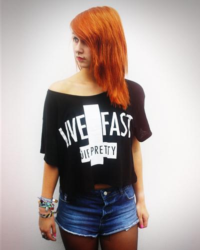 Live Fast Die Pretty Shirt