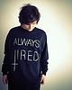 Always tired sweater 6086 small