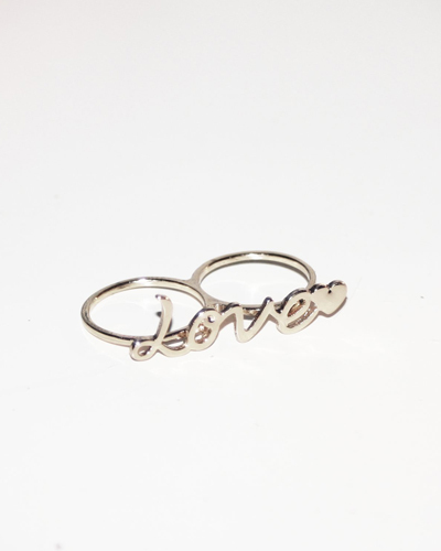Zweifinger Love Ring