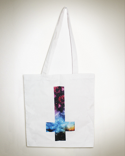 Galaxy Cross Tote Bag