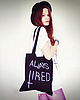 Always tired tote 6 small