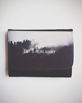 Let's run away Portmonee