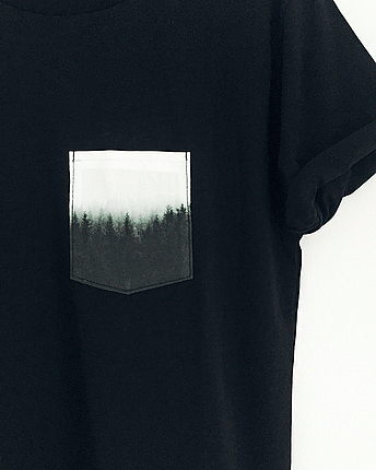 Forest Pocket t-shirt boys