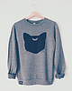 Mooncat sweatshirt 6961 small