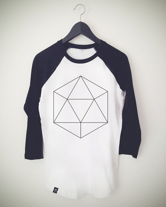 Hexagon Baseball Shirt