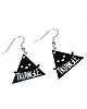 Triangle earrings 77 small
