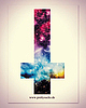 Galaxy cross sticker 23 small