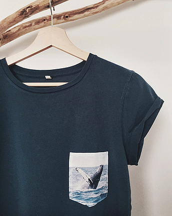 Free Whale Pocket Shirt