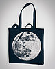 Moon tote bag 7487 small