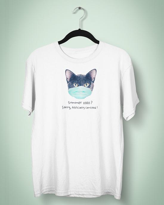 Corona Cat Shirt Boys