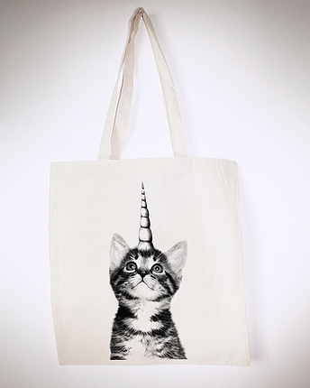 Kitticorn Totebag