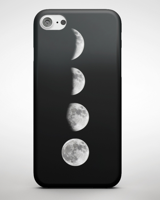 Mondphasen iPhone Case