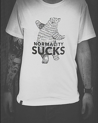 Normality Sucks T-Shirt Male