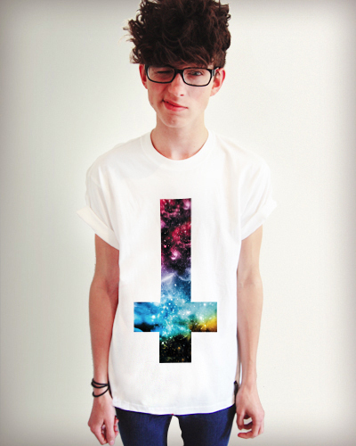 Galaxy Cross Shirt
