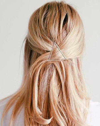 Haarspange Dreieck